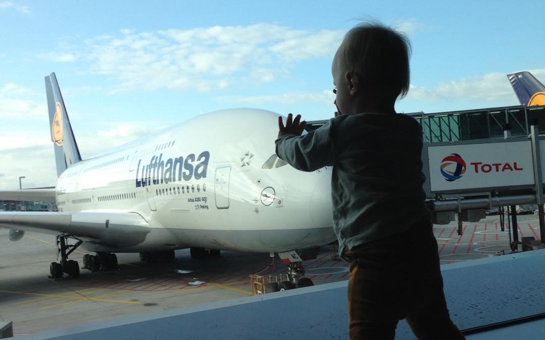Pirmais ceļojums ar bērnu