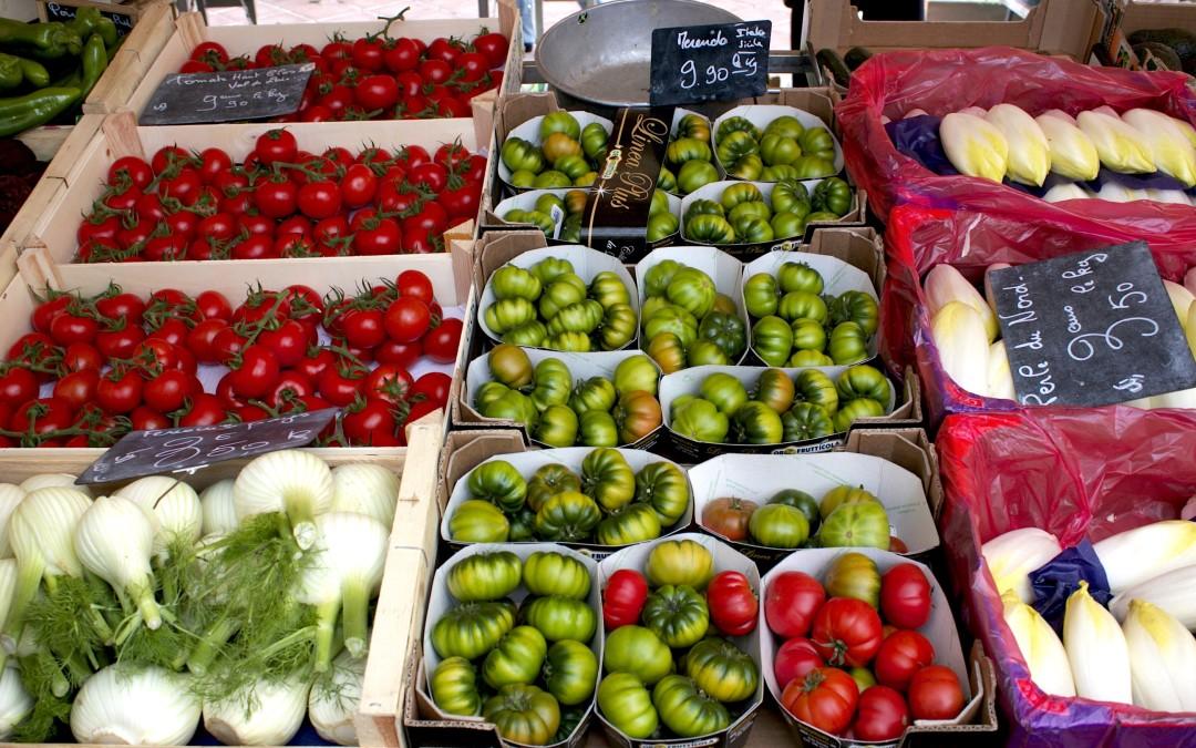 Brīvdienas Nicā: tirgus