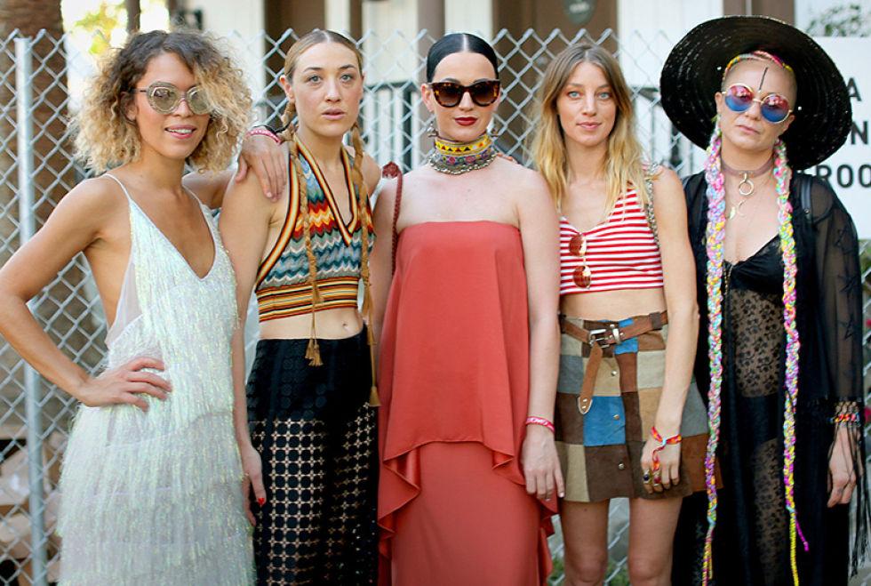 Coachella  – iedvesma festivālu apģērbiem