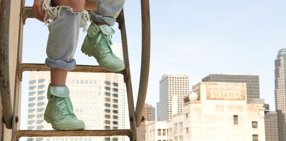 """Trešdienas iedvesma – krāsainie """"Palladium"""" apavi"""