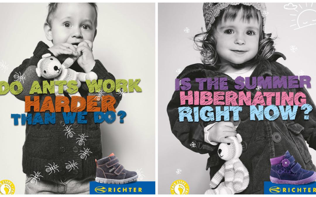 Richter bērnu apavi – moderni, funkcionāli, jautri!