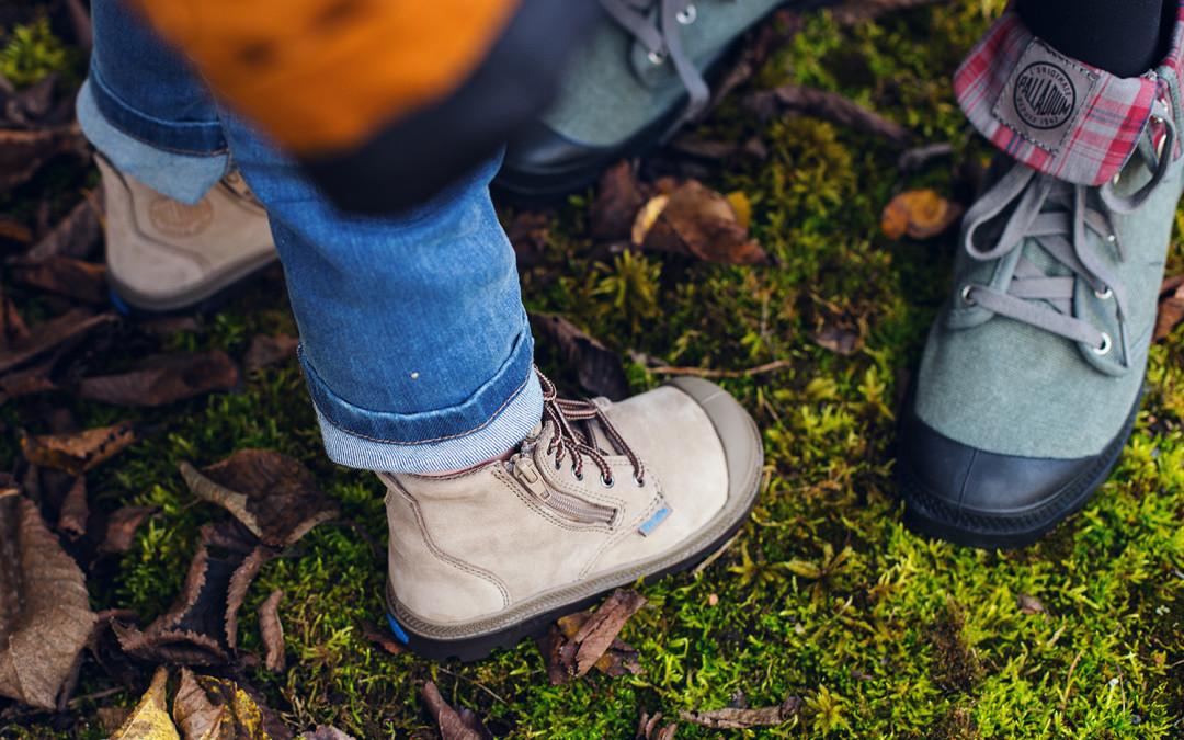 Laimē Palladium rudens/ziemas apavus!