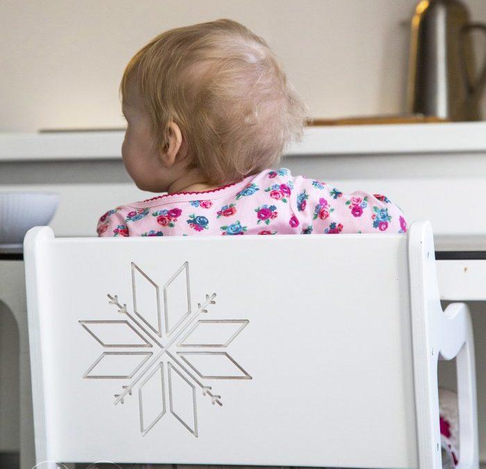 Īstais un vienīgais – barošanas krēsliņš