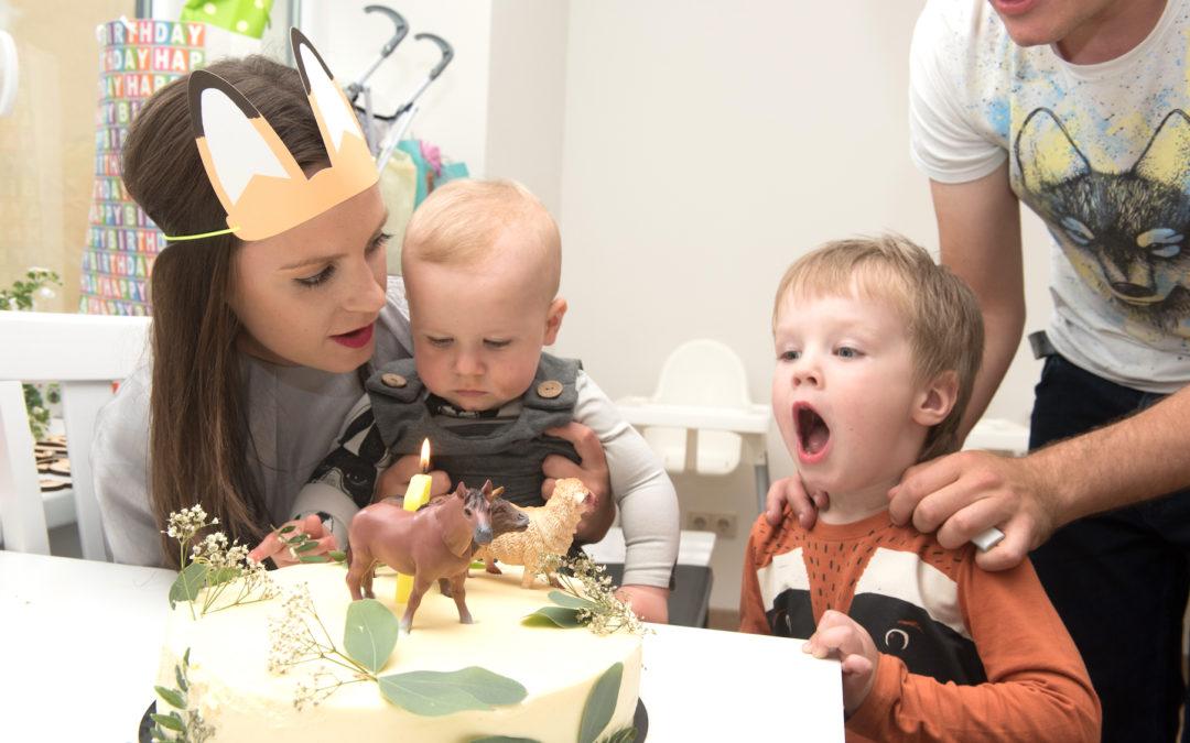 Edvīna pirmā dzimšanas diena