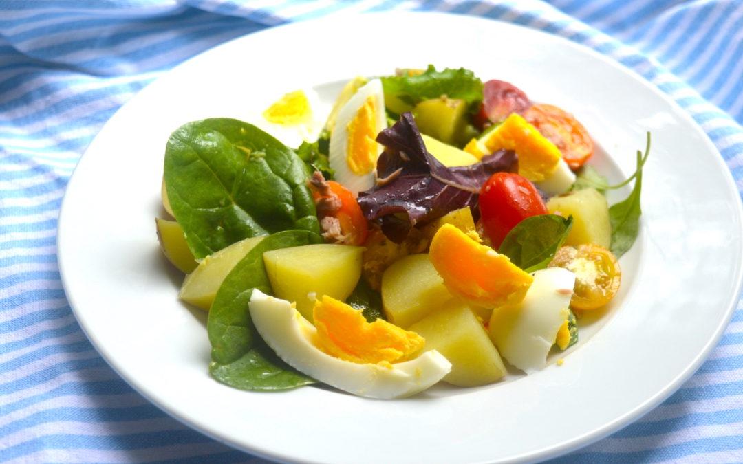 #pieliecolu : jauno kartupelīšu salāti ar tunci un olu
