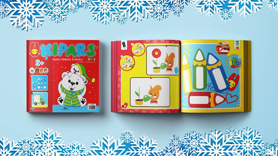 Žurnāls maziem bērniem- Ķipars