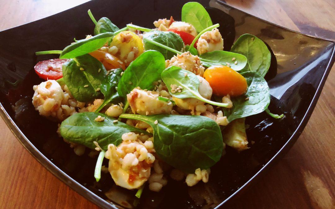 Bulgura salāti ar tunci