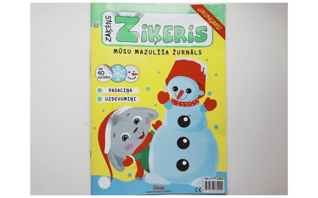 Zaķēns Ziķeris – žurnāls bērniem un vecākiem