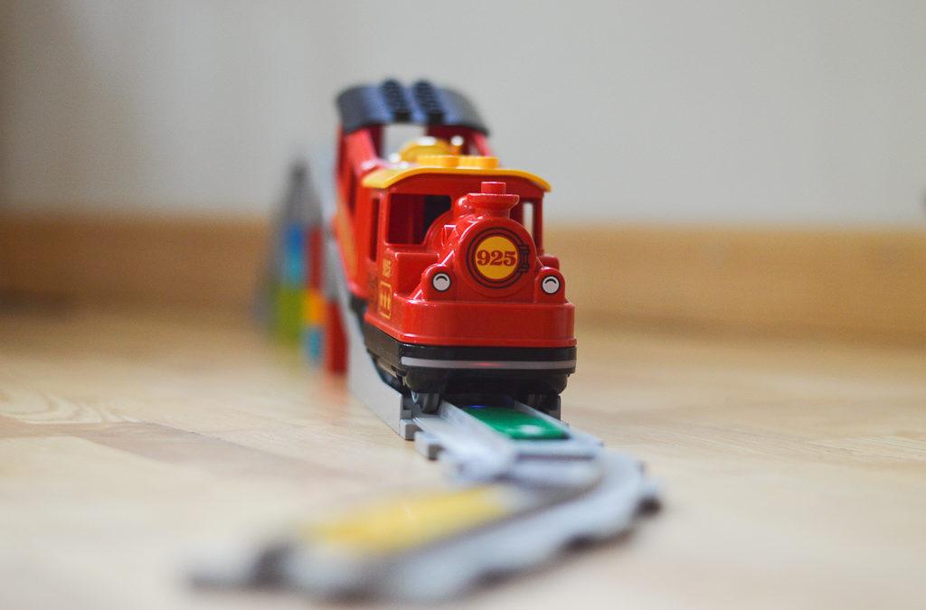 Laimē LEGO® Duplo vilcienu!