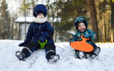 Apavu izvēle bērniem ziemā