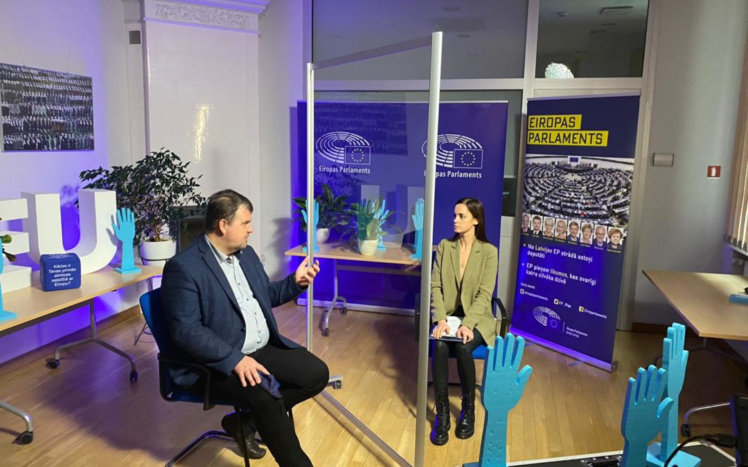 EP LAB: izprotot Eiropu | intervija ar Ivaru Ijabu
